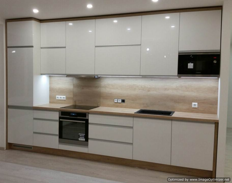 virtuves baldai balti